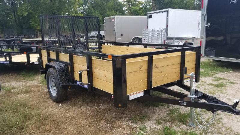 2020 Sure-Trac 6x10 3 Board High Side Utility Trailer 3k