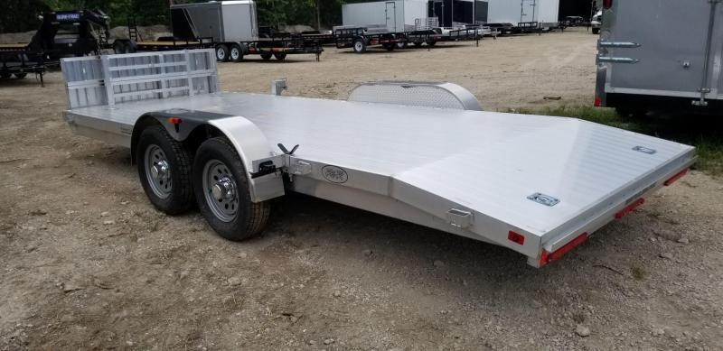2019 R&R Trailers 7x18 All Aluminum Open Deck Car Hauler 7k