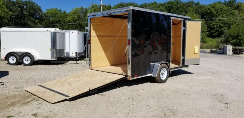 2020 Interstate 7x12 SFC Enclosed Cargo Trailer 3k