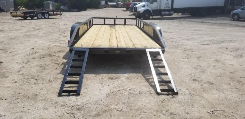 2018 M.E.B 6.4'x16' Utility Trailer w/Slide Out Ramps 7k