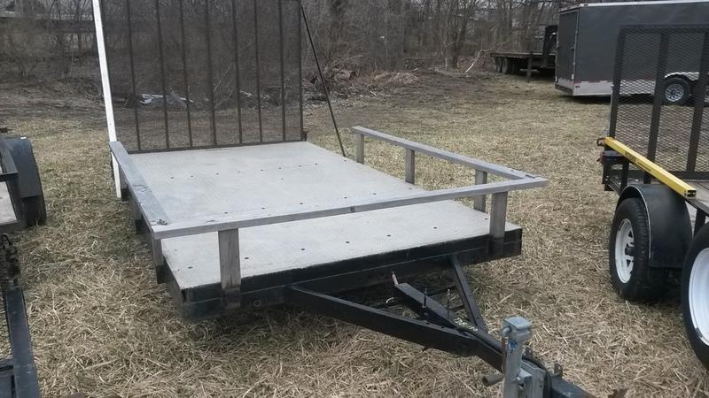 1989 Homemade 7 X 12 Utility