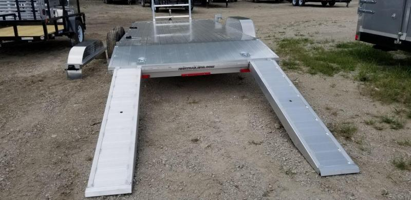 2018 R&R 7x18 Open All Aluminum Car Hauler 7k