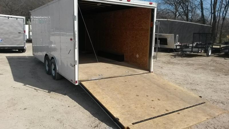 RENTAL #19 8.5x20 Pace Enclosed Car Hauler Trailer