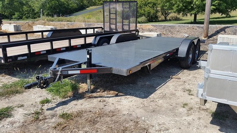 2019 Kwik-Load 7x20 Steel Heavy Auto Hauler 12k