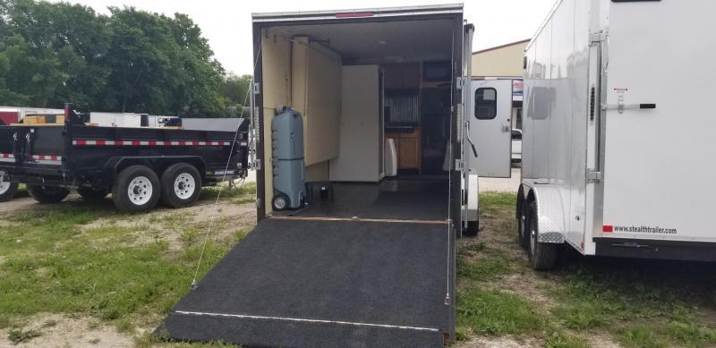 2017 R&M Manufacturing 7x18 EC Cargo Trailer 7k