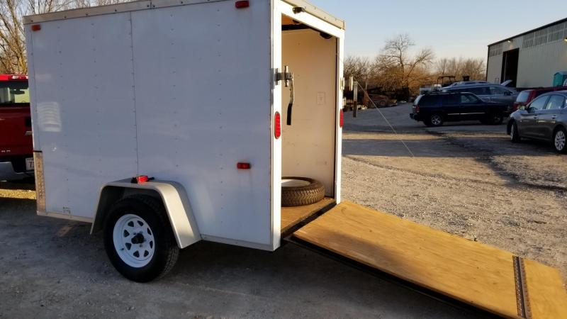 2012 Interstate 5x8 SFC Cargo Enclosed Cargo Trailer