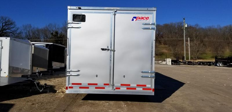 2019 Pace 8.5x24 Heavy Duty Cargo Equipment Trailer 14k