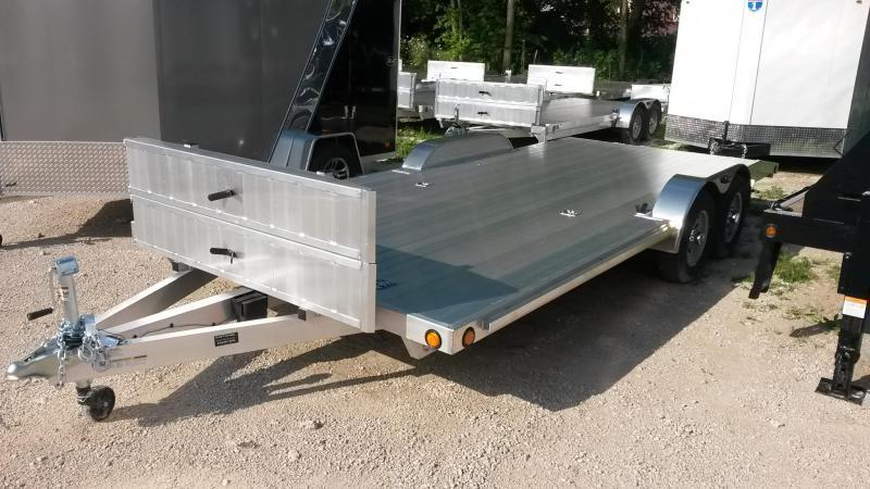 2018 R&R 7x22 Aluminum C-Channel Car Hauler 10k