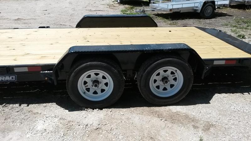 2018 Sure-Trac 7x20 Wood Deck Car Hauler 10k