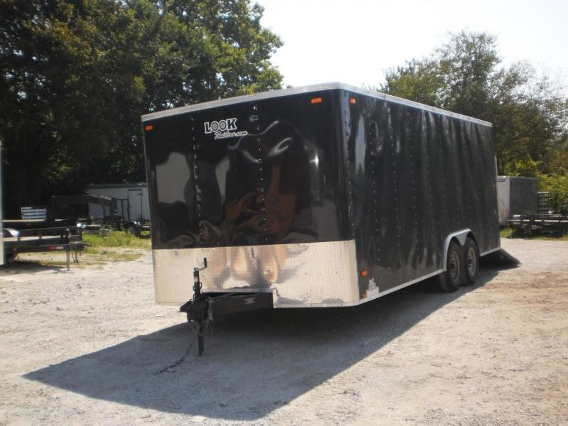 RENTAL #9 8.5X20 Look Enclosed Car Hauler