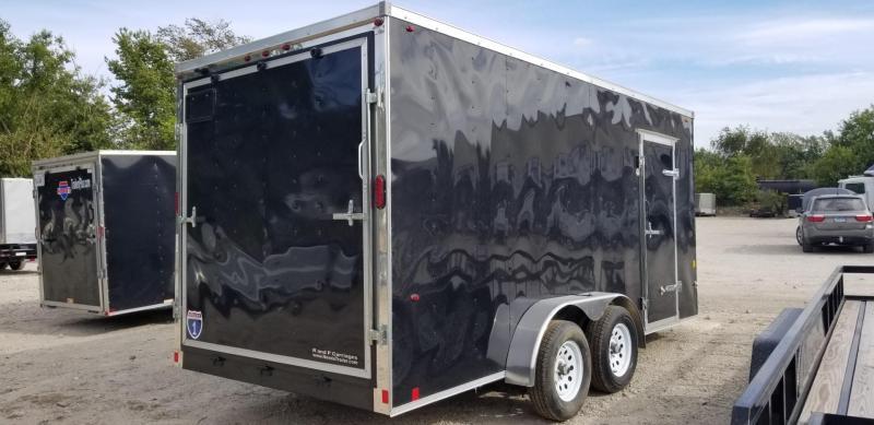 2019 Interstate 7x16 SFC Cargo Trailer 7k