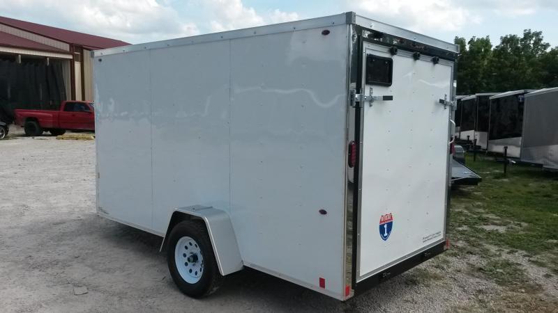 2019 Interstate 6x12 Enclosed Cargo Trailer 3K