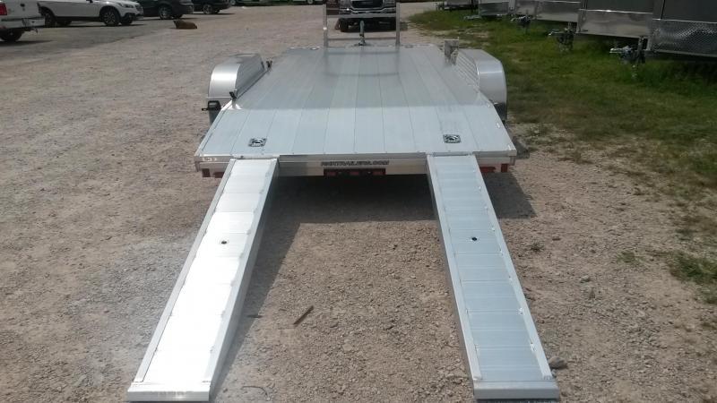 2018 R&R 7x18 All Aluminum Car Hauler 7k
