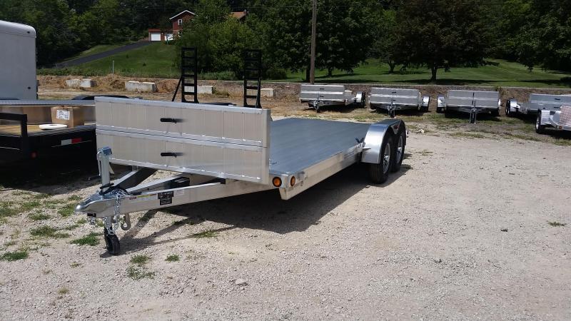 2019 R&R 7x20 All Aluminum Open Deck Auto Hauler 7k