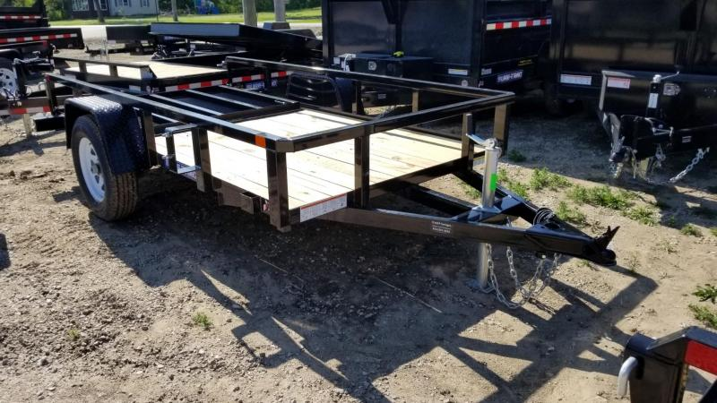 2019 Sure-Trac 5x10 Tube Top Utility w/Fold Flat Gate 3k