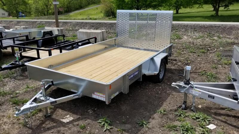 2019 Sure-Trac 7x12 Galvanized High Side Utility w/Gate 3k