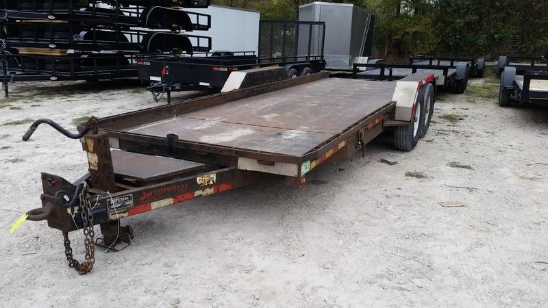 2008 Imperial 7x16+4 Tilt Bed Equipment 14k