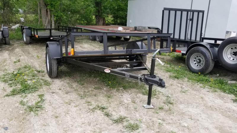 2019 M.E.B. 6.4x10 Tilt Utility Trailer w/Board Holders 3k