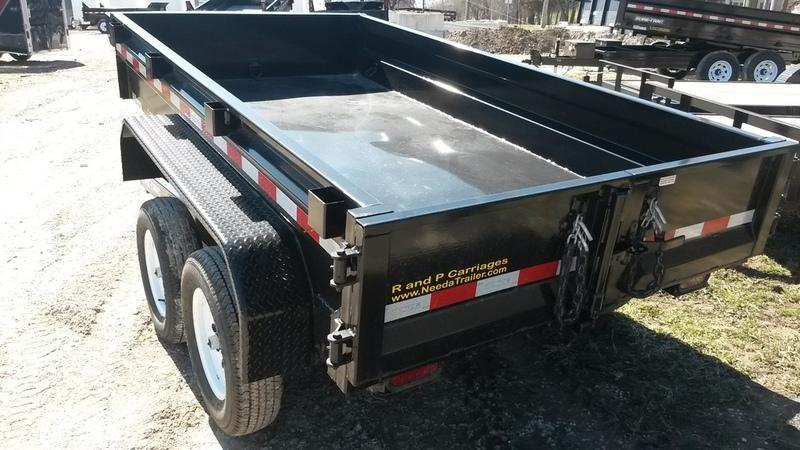 "RENTAL #1 62""x10' Sure Trac Dump Trailer"