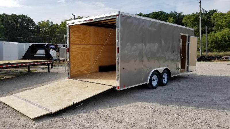 2020 Pace 8.5x20 Outback Deluxe Enclosed Car Hauler 7k