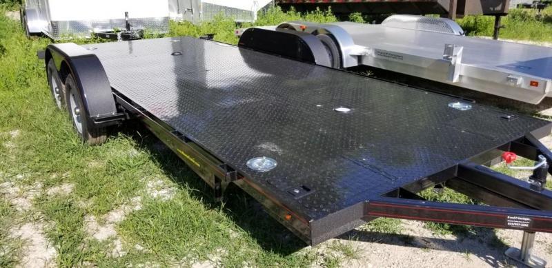 """2018 Kwik Load 7x18 Steel """"Rollback"""" Car Hauler 7K"""