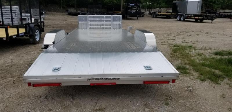 2018 R&R 7x18 Open All Aluminum Car Hauler 7k