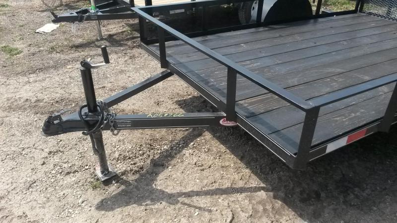 2019 M.E.B 6.4x10 Angle Iron Utility w/Gate 3k