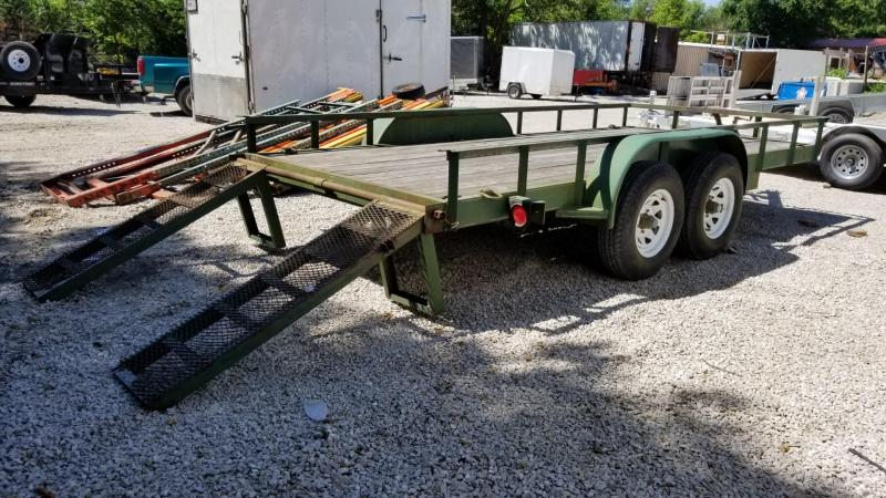 2002 Other 7X16 Landscape Trailer w/Stand Up Ramps 10k