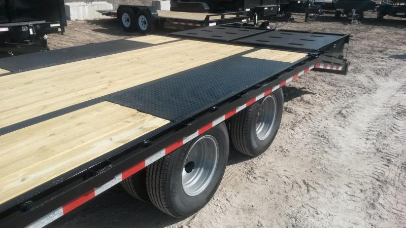 2018 Sure-Trac 8.5x25+5 Deckover Equipment Trailer