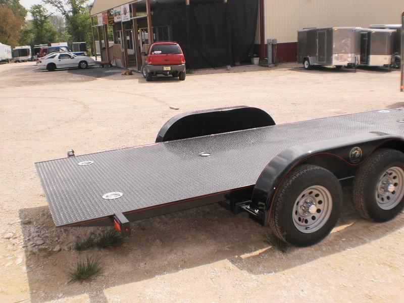 """2019 Kwik-Load 7x18 Steel """"Rollback"""" Car Hauler Trailer 7k"""