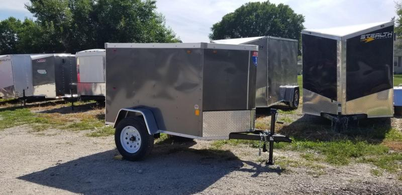 2019 Interstate 4x6 SFC Cargo Trailer 2k