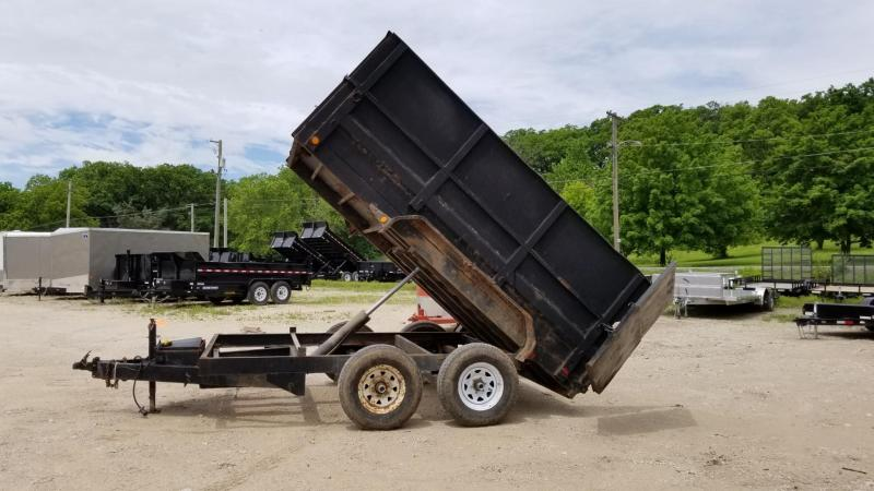 2007 PJ Trailers 7x12 Single Ram Dump Trailer 12k