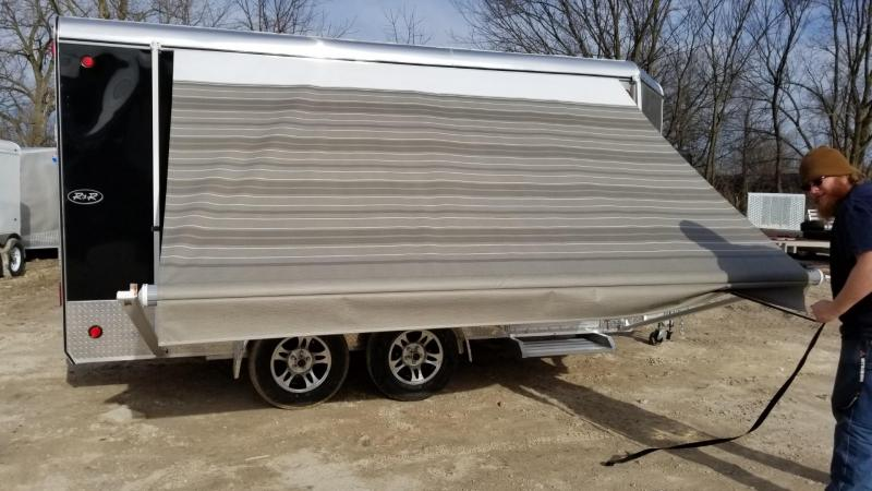 2019 R&R 7x14 VDCP All Aluminum Deluxe Cargo Trailer 7k