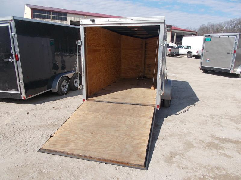 RENTAL #4 6x12 Pace Cargo Trailer