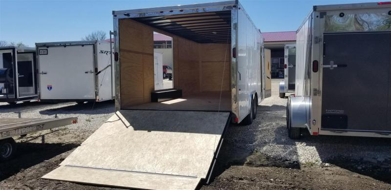 2019 Interstate 8.5x20 Enclosed Auto Hauler w/Escape Door 10k