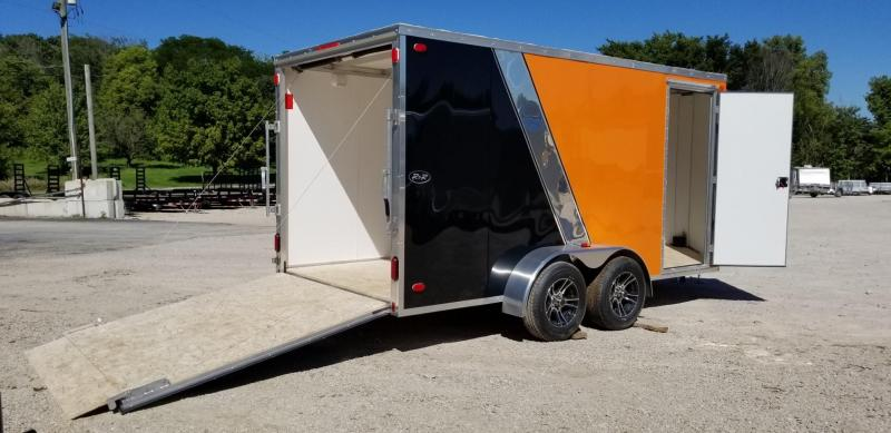 2018 R&R 7x12 Force Elite Cargo Tandem Axle 7k