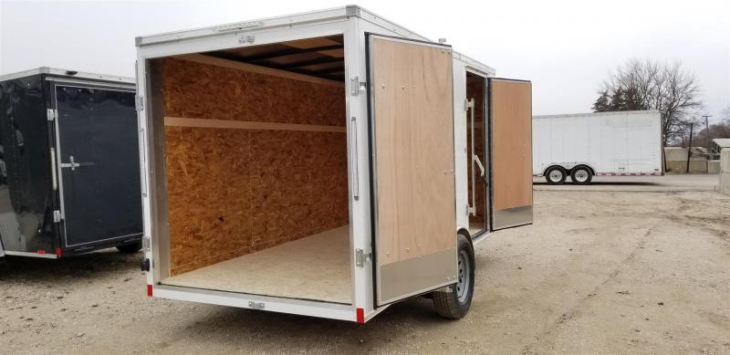 2020 Pace American 6x12 Outback Enclosed Cargo Trailer 3k