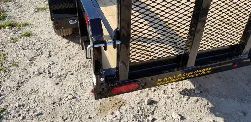 2019 Sure-Trac 7x16 Tube Top Utility Trailer 7k