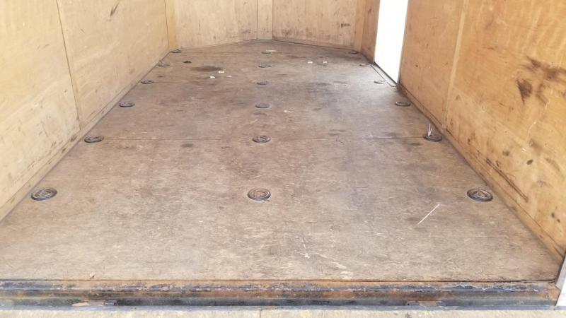 2016 Interstate 7x12 SFC Enclosed Cargo Trailer 3K