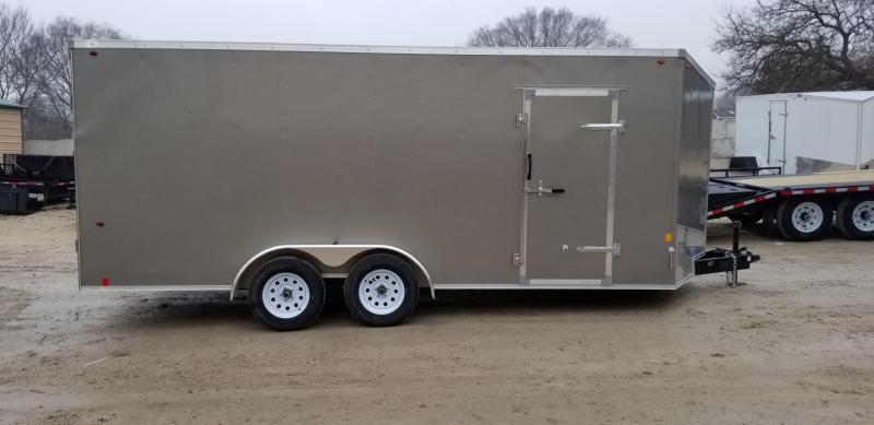2019 Interstate 7x18 SFC Enclosed Cargo Trailer 7k
