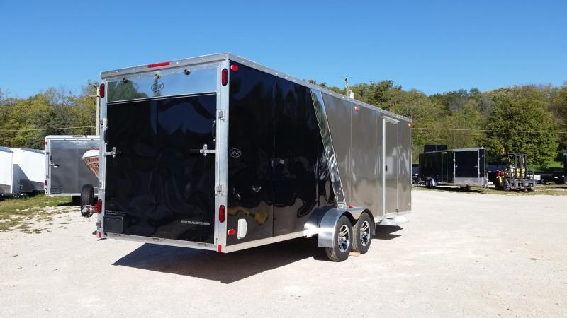 2019 R&R 7.5x22 Slasher Elite 4 Place Snowmobile Trailer 7k