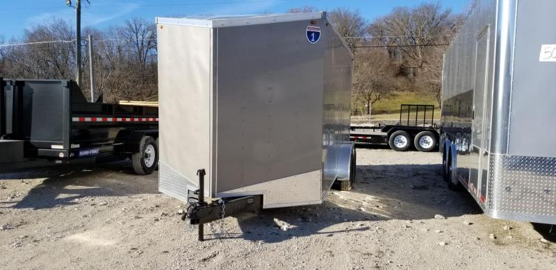2019 Interstate 7x16 SFC Enclosed Cargo Trailer 7k