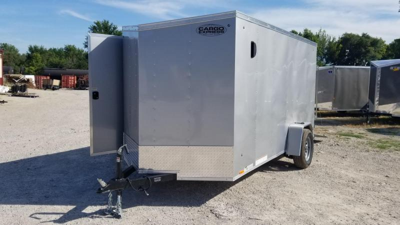 2020 Cargo Express 6x12 EX Deluxe Enclosed Cargo Trailer 3k