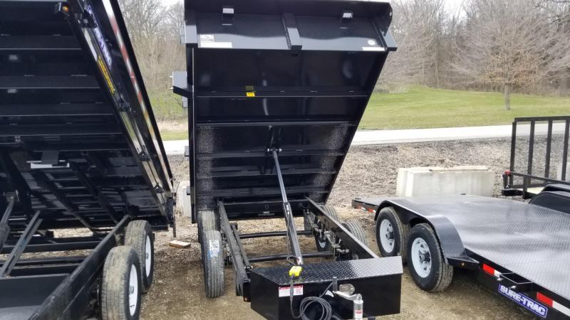 2018 Sure-Trac 72x10 Single Ram DECKOVER Dump 7k
