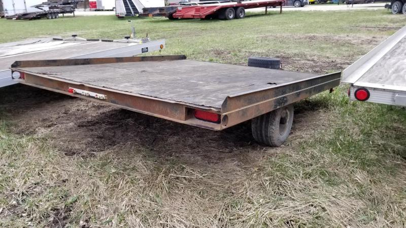 1981 Sno-Bird 7x8 Snowmobile Trailer 3k