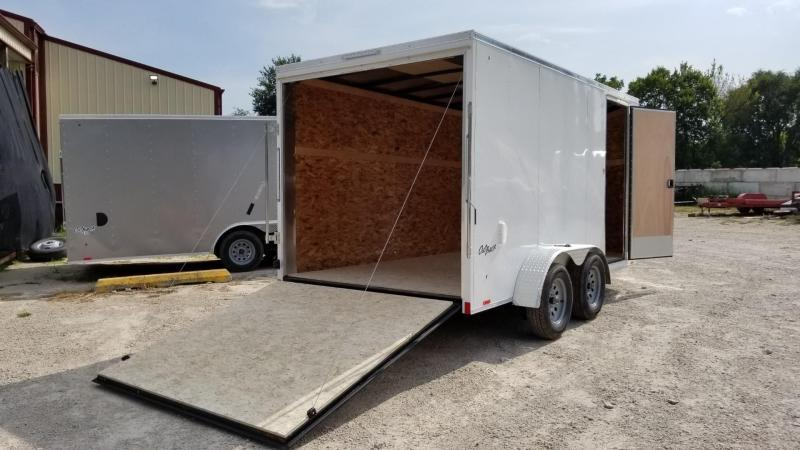 2020 Pace 7x14 Outback Deluxe Enclosed Cargo Trailer 7k