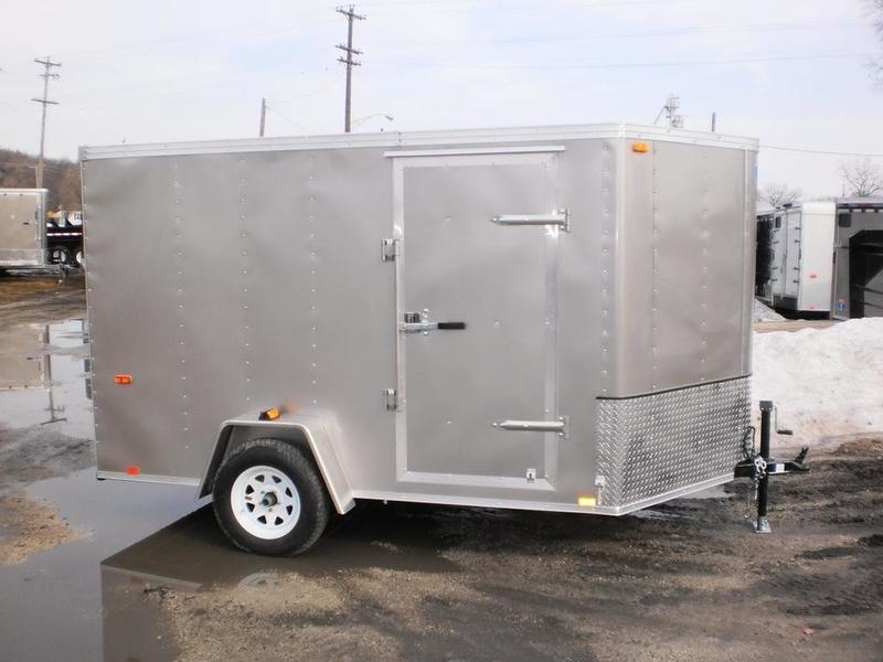 RENTAL #2 7x10 Interstate Cargo Trailer
