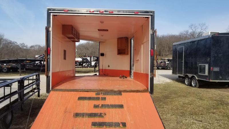 2004 Haulin Trailers 8x16 Snowmobile Trailer 7k