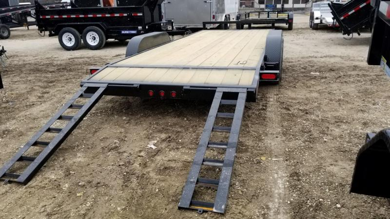 2019 M.E.B 7x20 Wood Deck Car Hauler w/Slide Out Ramps 10K in Ashburn, VA