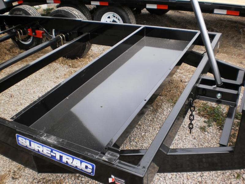 "2018 Sure-Trac 82""x12 Telescopic Lift Dump Trailer 12k"